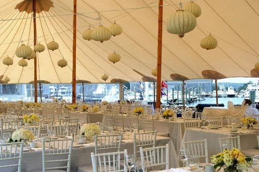 event inside marquee